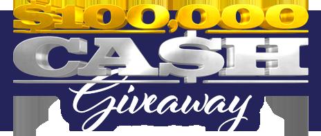 $100K Cash Giveaway
