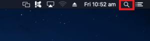 Mac OSX Spotlight Search