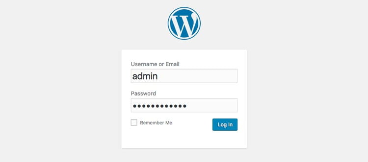 faq-wordpress-login