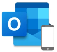 Outlook for mobile icon