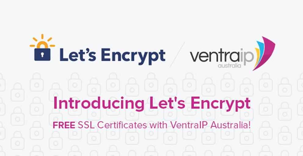 Lets Encrypt Free Ssl Certificates Now Available Ventraip Australia
