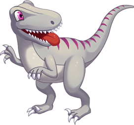 Pink Ventraptor
