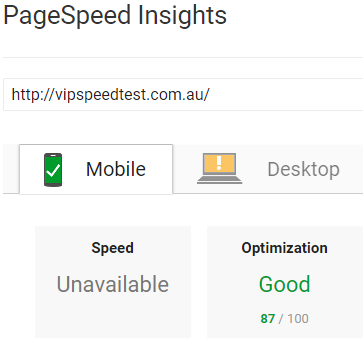 pagespeed insights 2