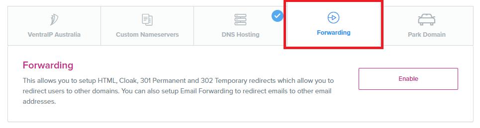 VIPControl Set Forwarding DNS